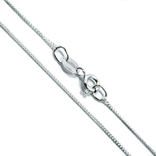 Italian Sterling Silver Fine Curb Chain 1mm